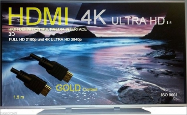 Hight Speed HDMI Kabel 1.4 Ultra HD Ready